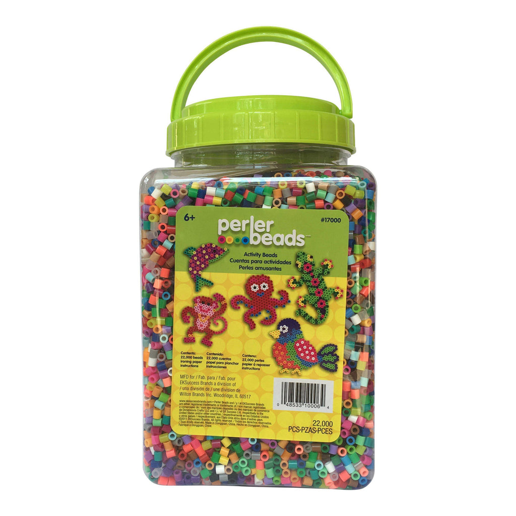 Large Perler Bead Tub