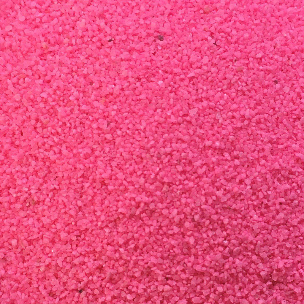 Fluro Pink Coloured Sand - SilverStarCrafts