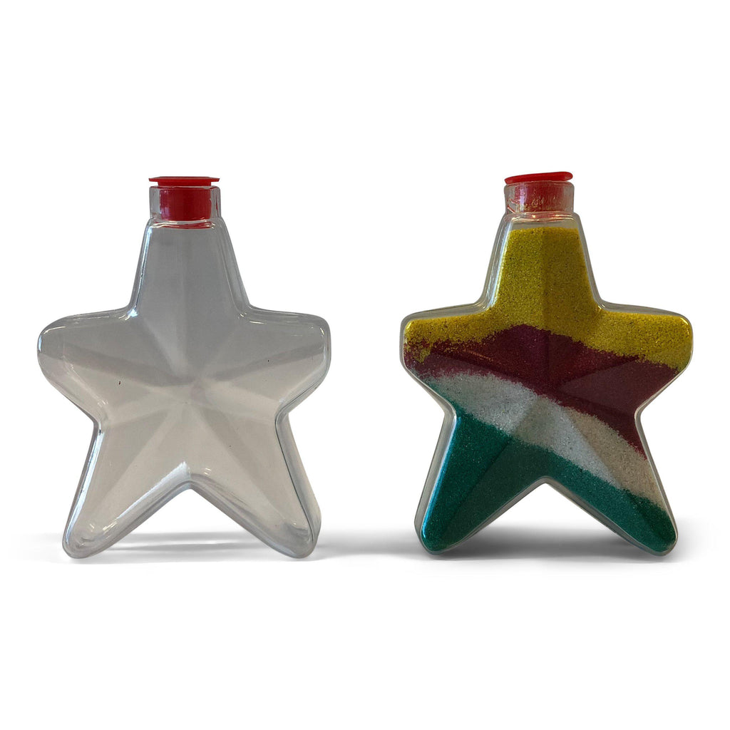 Star Shaped Sand Art Bottle