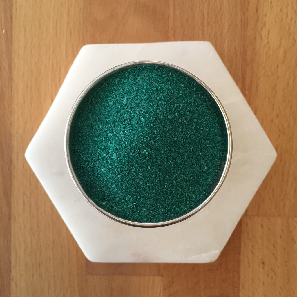 Forest Green Coloured Sand - SilverStarCrafts
