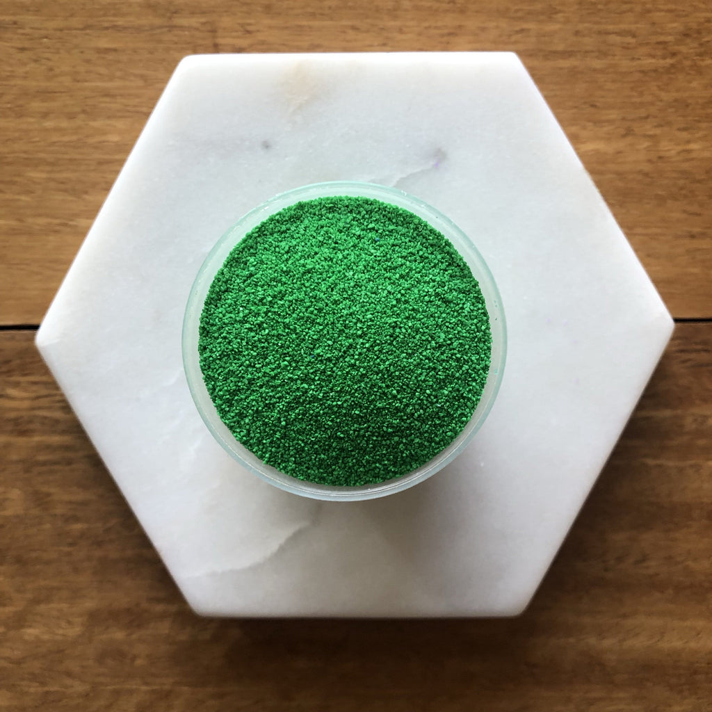 Mid Green Coloured Sand