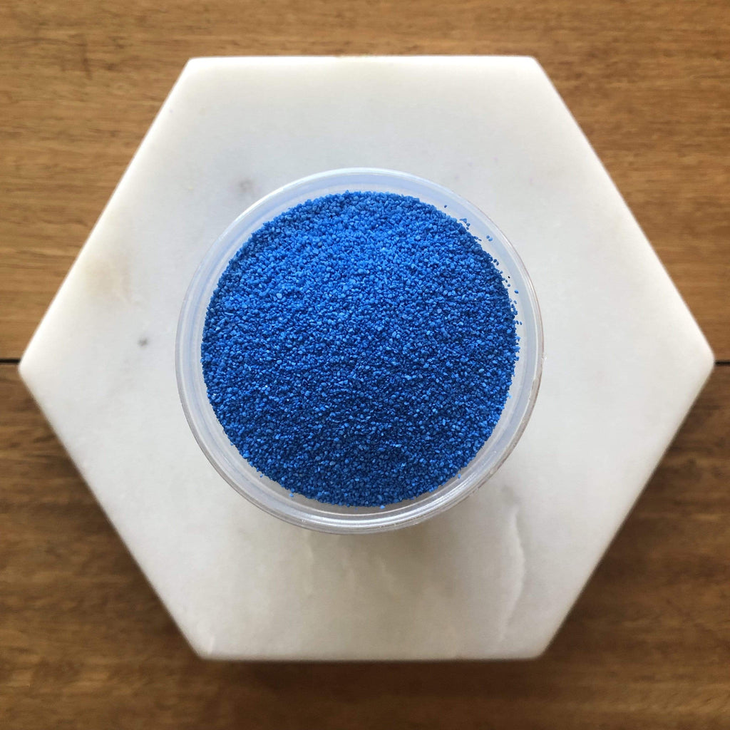 Mid Blue Coloured Sand