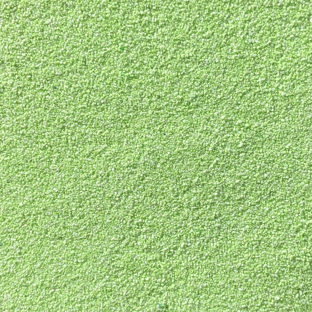 Lime Green Coloured Sand