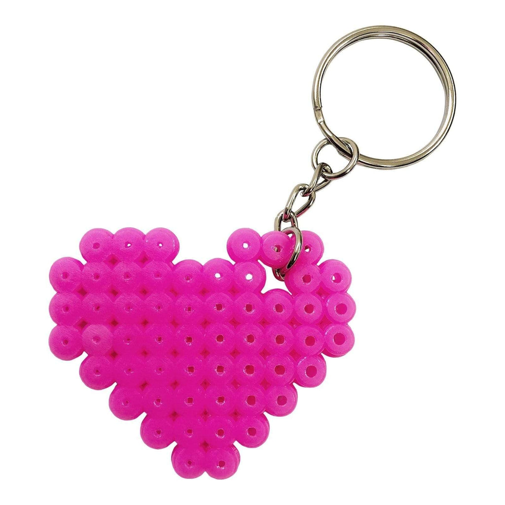 Metal Key Rings with Link Chain - 12 Pack