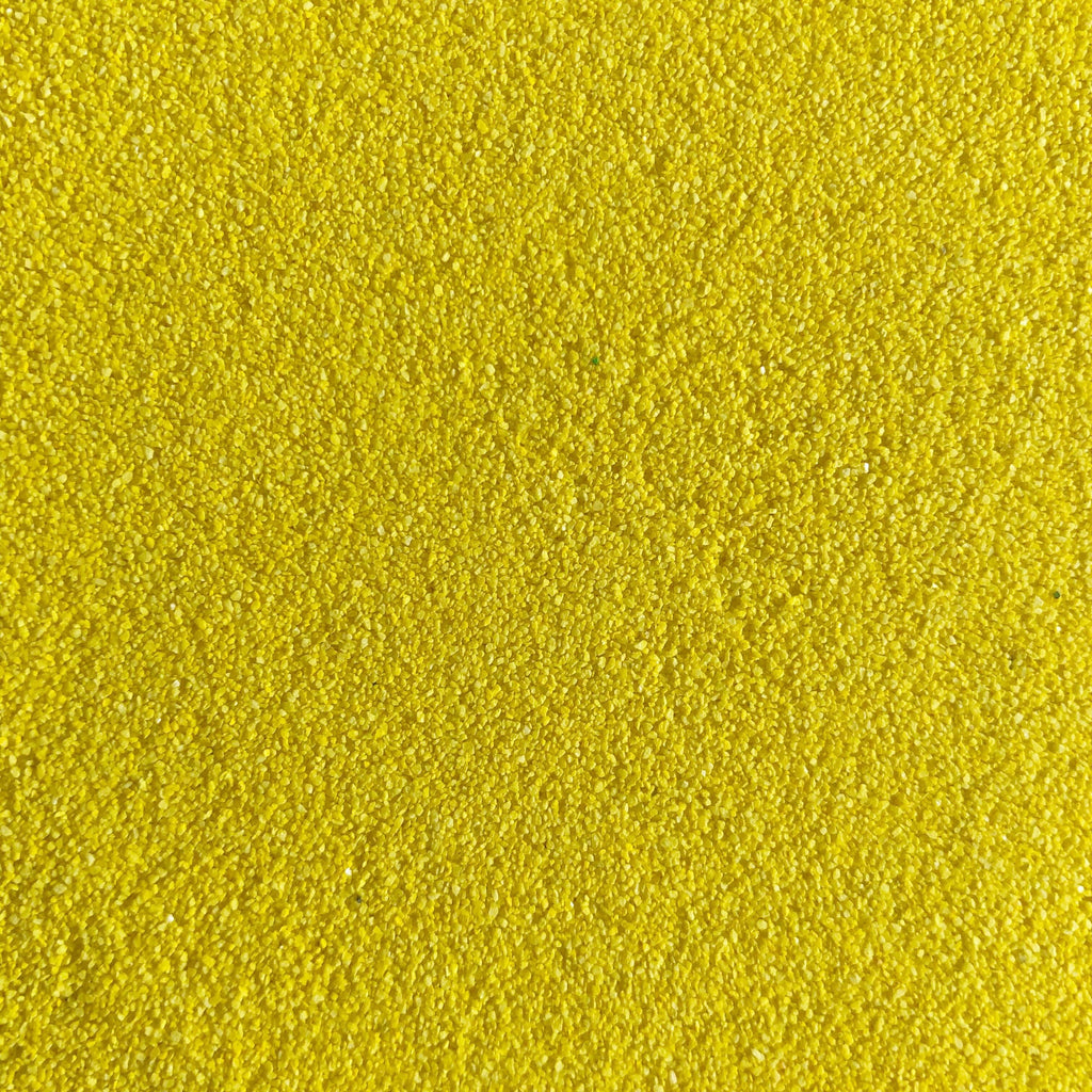 Bright Yellow Coloured Sand