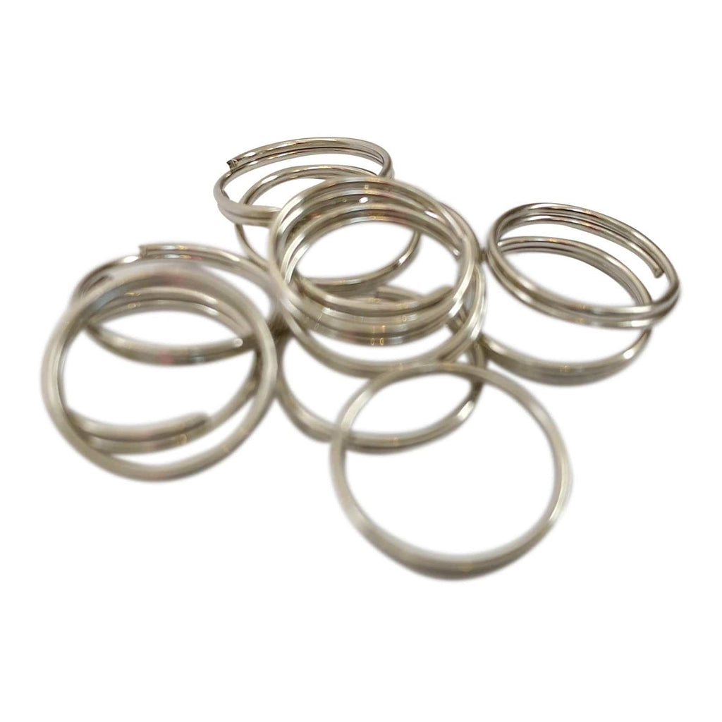 Small Split Rings - 12 Pack