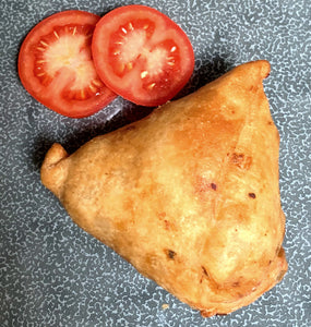 Tikka potato & Spinach samosa