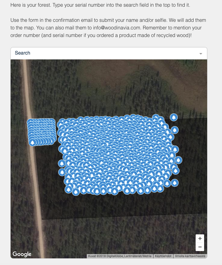 Protect Your Own 10 Square Feet Piece of Forest + Submit Your Name and Picture to Map + Get an Electric Certificate