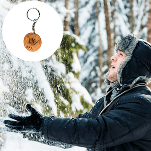 Protect 10 Square Feet of Forest + Get a Wooden Keychain