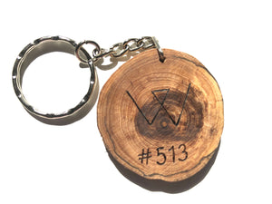 Protect 10 Square Feet of Forest + Get a Recycled Wooden Keychain