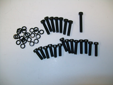 New, Blackened, Screw and Washer Sets