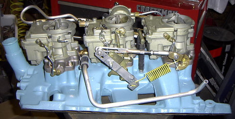 1964 Tripower Linkage kit