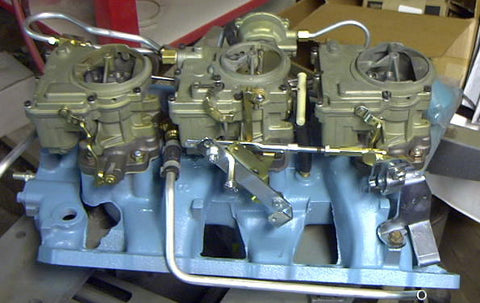 1965 Tripower Linkage kit