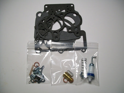 1957-1958 Rebuild Kit For (1) Carb.