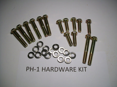 "D-Port Installation Kit for Ram Air Manifolds using 2.00"" or 2.25"" Exhaust Pipe Size. PH-1 Kit"