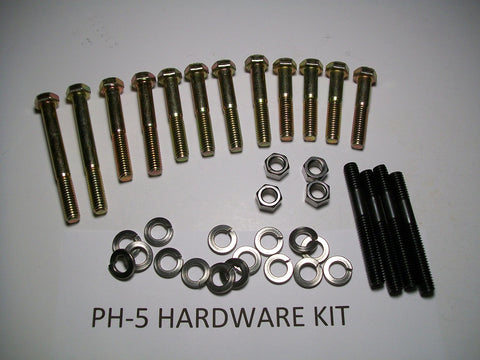 D-Port Installation Kit For Long Branch Manifolds  PH-5 Kit Big Car 1960-1970