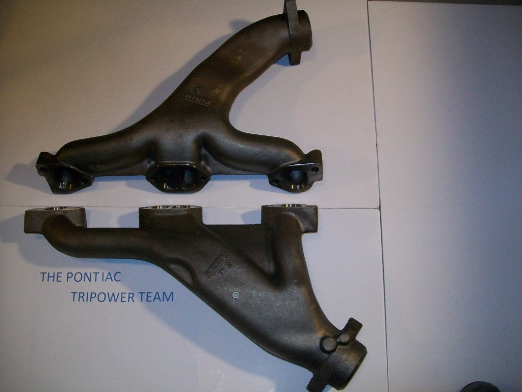 Long Branch D-Port Factory Headers 1960-1970 Big Car ( Catalina,  Bonneville) Plus Many Other Applications  Additional Shipping Charges Will  Apply