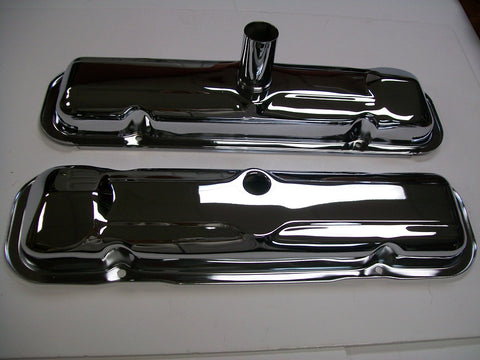 Chrome Valve Covers -- Late 1964