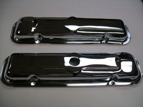 Chrome Valve Covers--1966