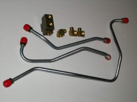 1959-63 Steel Fuel Line Kit