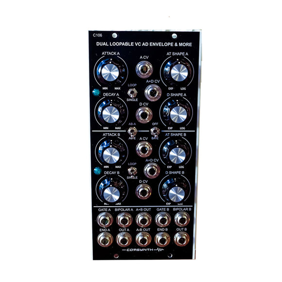 Corsynth - C106: Dual Loopable VC AD Envelope & More