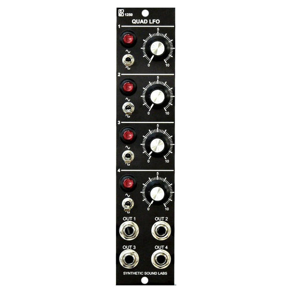 Synthetic Sound Labs - Model 1250: Quad LFO
