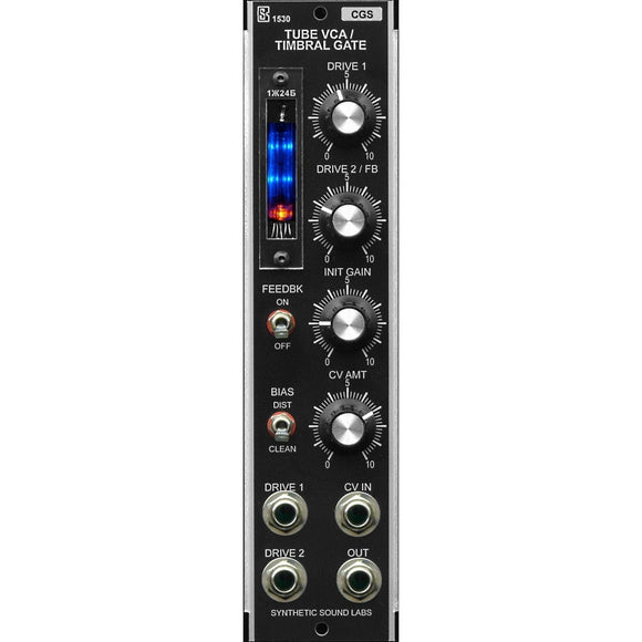 Synthetic Sound Labs - Model 1530 - Tube VCA / Timbral Gate