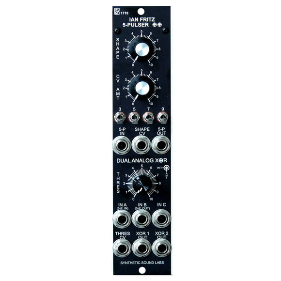 Synthetic Sound Labs - Model 1710: 5-Pulser / Dual Analog XOR