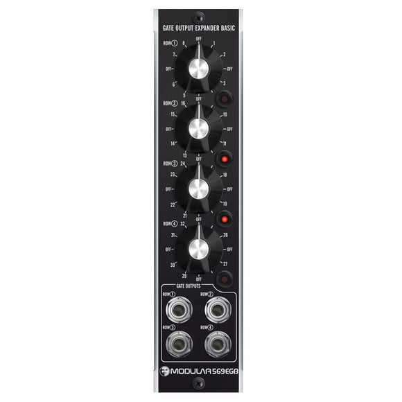Moon Modular - 569EGB: Gate Output Expander Basic