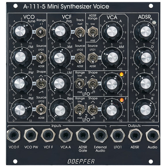 Doepfer - A-111-5V Mini Synthesizer Voice