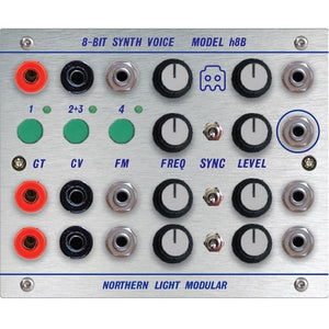 Northern Light Modular - 8-bit Synth Voice – Model h8B