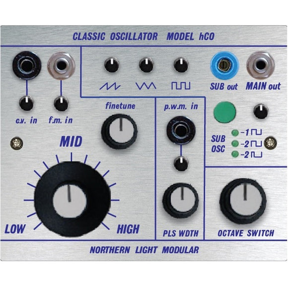 Northern Light Modular - Classic Oscillator – Model hCO