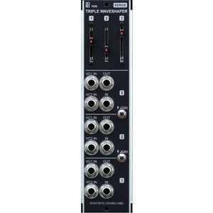 Synthetic Sound Labs - Model 1050 Serge Triple Waveshaper
