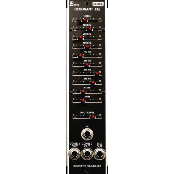 Synthetic Sound Labs - Model 1010 Serge Resonant EQ