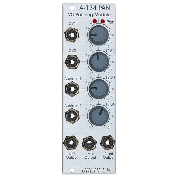 Doepfer - A-134: Voltage Controlled Panning