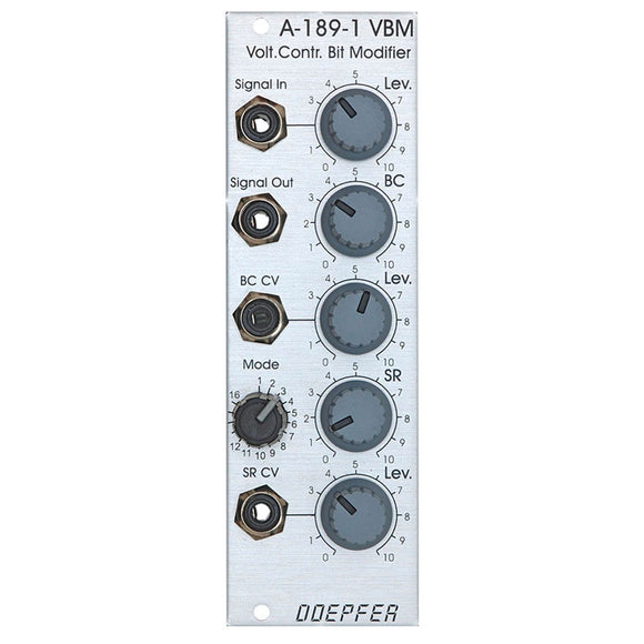 Doepfer - A-189-1: Voltage Controlled Bit Modifier / Bit Cruncher
