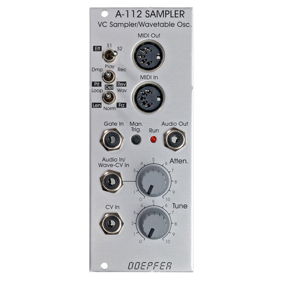 Doepfer - A-112: Sampler / Wavetable Module