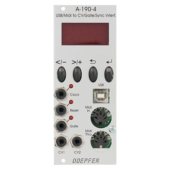 Doepfer - A-190-4: USB/Midi-to-CV/Gate/Sync Interface
