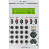 Doepfer - a-190-5 Polyphonic USB/Midi-to-CV/Gate Interface
