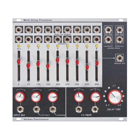 Verbos Electronics - Multi-Delay Processor