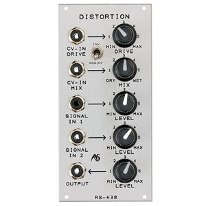 Analogue Systems - RS-430: Distortion
