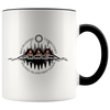 Bkejwanong Nation Mug 11oz Black Drinkware - TuWillows