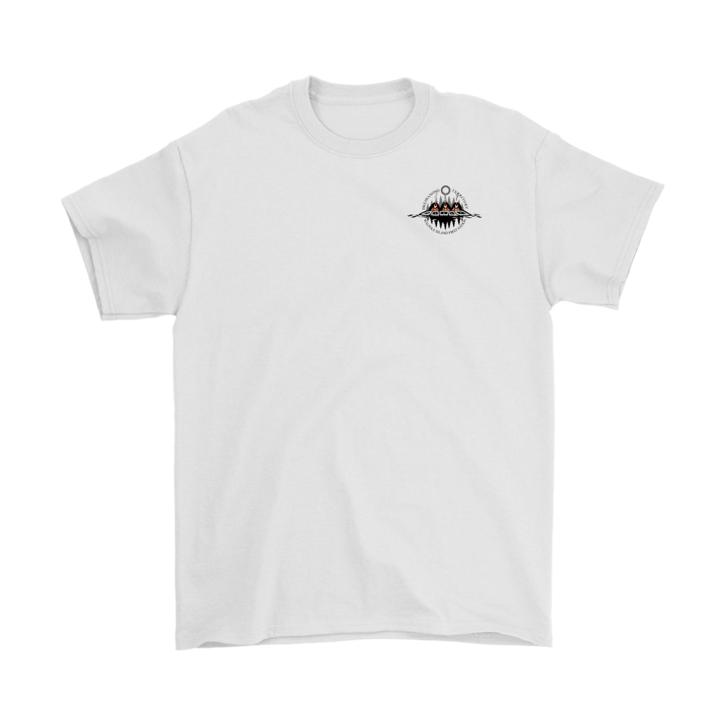 Bkejwanong Nation - Turtle Clan Tshirt Gildan Mens T-Shirt / White / S T-shirt - TuWillows