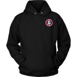 Blossom with Bujinkan in Pink - Bujinkan Hoodie District Unisex Shirt / S Bujinkan Tshirt & Hoodie - TuWillows