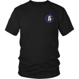 Blossom with Bujinkan in Purple - Bujinkan Tshirt & Hoodie District Unisex Shirt / S Bujinkan Tshirt & Hoodie - TuWillows