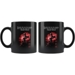 Breath Life Into The Weapon Black Mug 11oz Breath Life Into The Weapon Drinkware - TuWillows