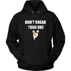 Don't Break Your Uke - Budo Hoodie S Budo Hoodie - TuWillows