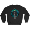 Gyokko-ryū Kosshi Jutsu - Bujinkan Sweater Crewneck Sweatshirt / Black / S T-shirt - TuWillows
