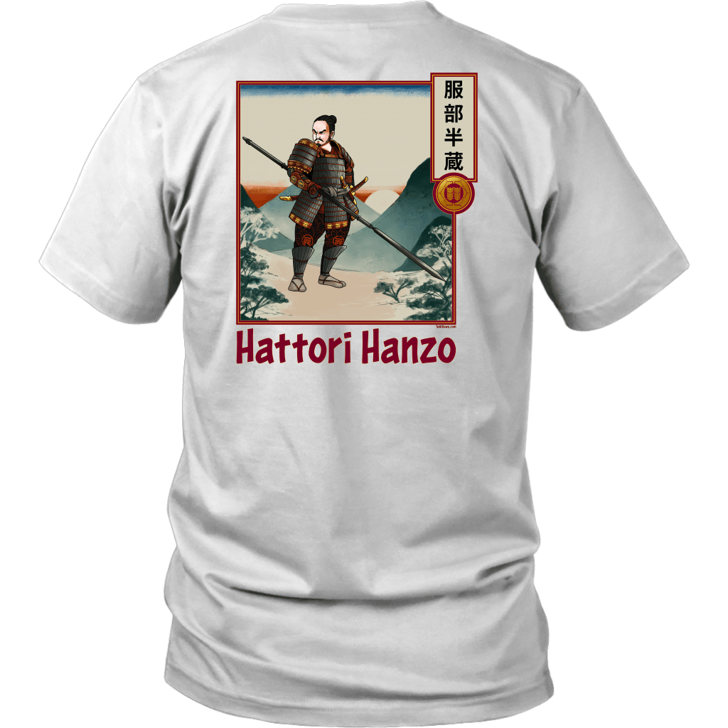 Hattori Hanzo - Famous Ninja Tshirt & Hoodie District Unisex Shirt / White / S T-shirt - TuWillows
