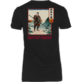 Hattori Hanzo - Famous Ninja Tshirt & Hoodie District Womens Shirt / Black / XS T-shirt - TuWillows
